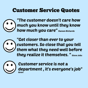 customer service vital in logistics