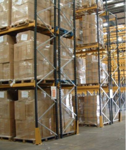 pallet storage and bulk storage in Hook, Hampshire