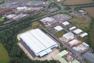 warehousing facility in Worksop, Nottinghamshire
