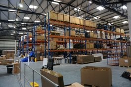 pallet storage & order fulfilment in Swindon