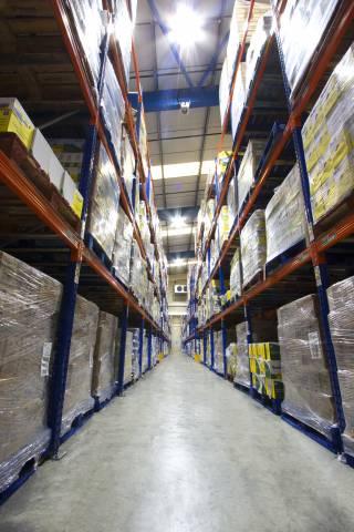 food grade warehousing in Andover