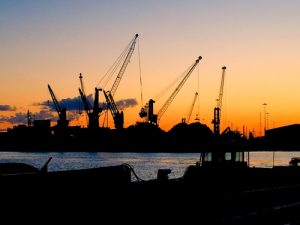 Immingham port for cargo and shipping