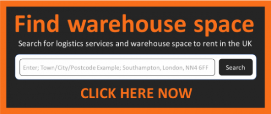 Find warehouse space in East Yorkshire