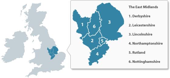 East Midlands warehousing
