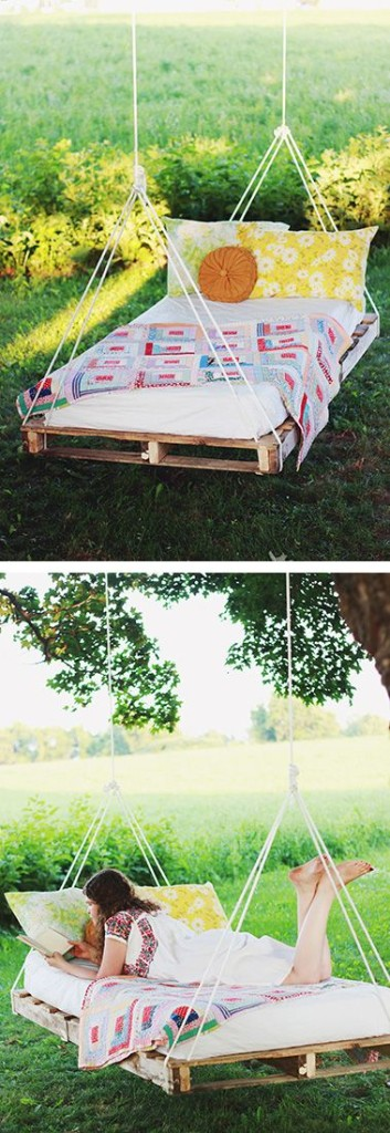hammock made from pallets