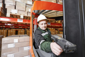 Warehousing management with RFID