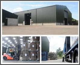 nottinghamshire pallet storage
