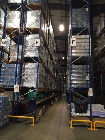 warehousing in East Midlands