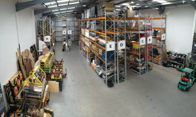 pallet storage heathrow