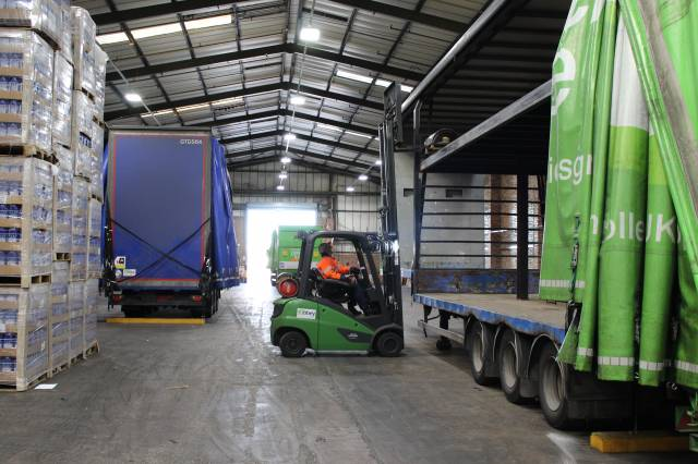 cross docking in Wirral